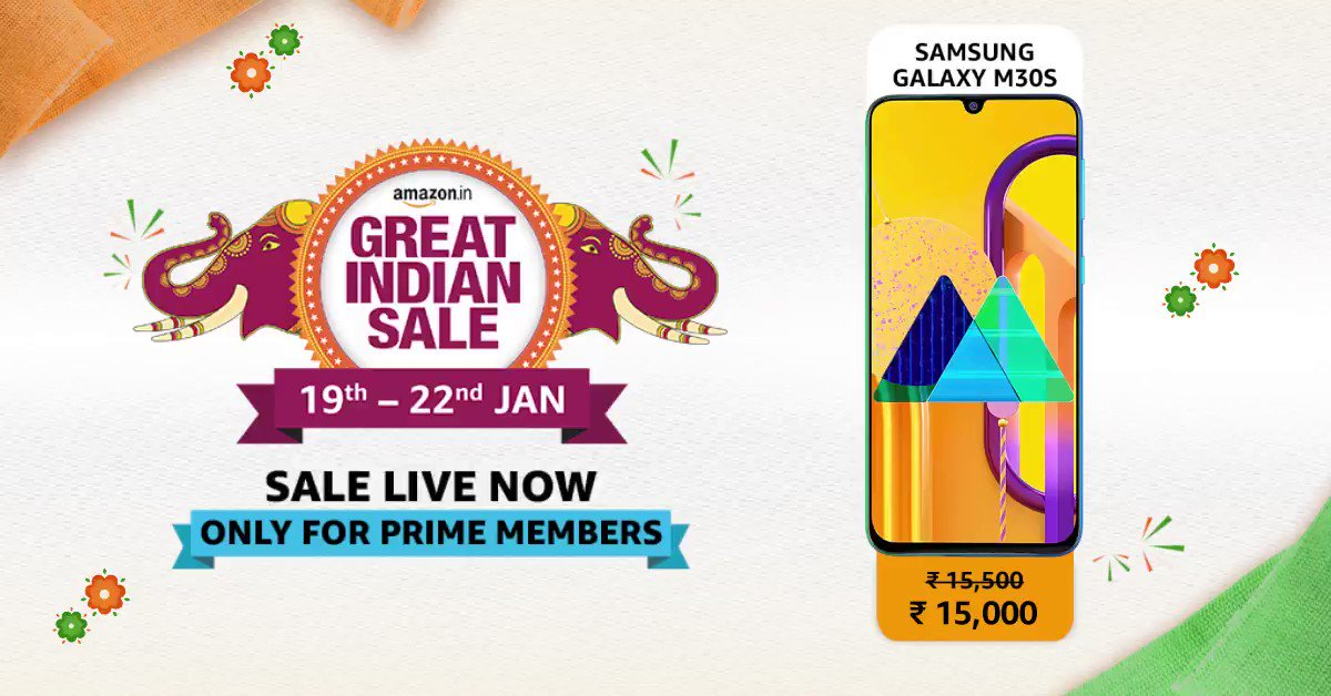 Contest alert! Screenshot the right offer at the right moment and tweet it to us using #AmazonGreatIndianSale & #PrimeEarlyDeals. Get a chance to win Amazon Gift vouchers. Shop to access great deals at https://amzn.to/30tBBI1    T&C:  http://bit.ly/2tt2DmE
