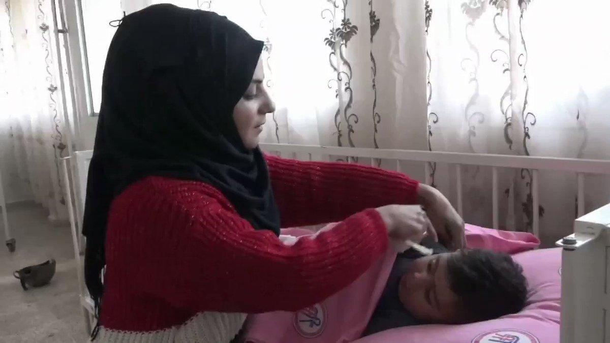 Image for the Tweet beginning: Barış Pınarı bölgesindeki Rasulayn Hastanesi,