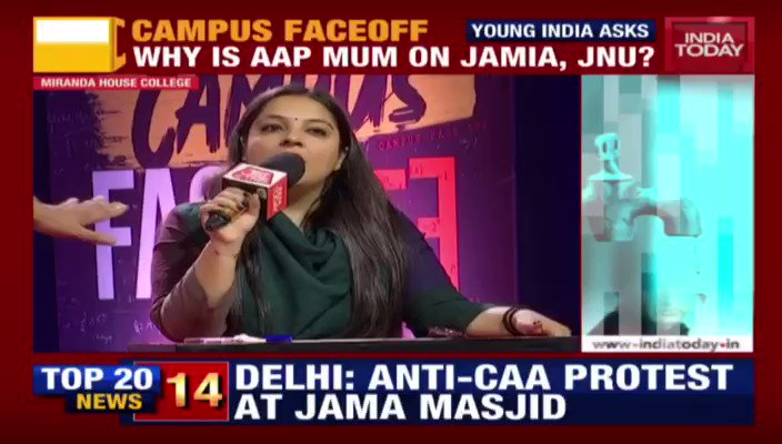 Congress has mastered the art of fear mongering!Watch on, see for yourself how @INCIndia spreads fake news & instils fear in our young citizens! Via @IndiaToday #IndiaSupportsCAA