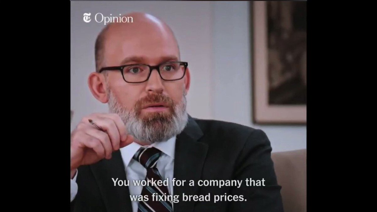 Chas Libretto On Twitter Just You Worked For A Company That Was Fixing Bread Prices On A Loop And Set To The Annihilation Soundtrack