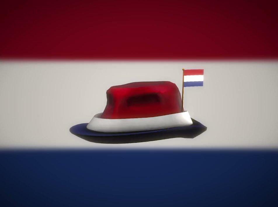 Flag Hat Roblox Roblox On Twitter Hallo Nederlanders Fly The Red White And Blue On Roblox With Our Latest International Fedora Https T Co Hxmqqourxk Https T Co W230ew83jt