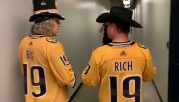 Always supporting our home town teams! #Nashville #titans #predators #bigandrich