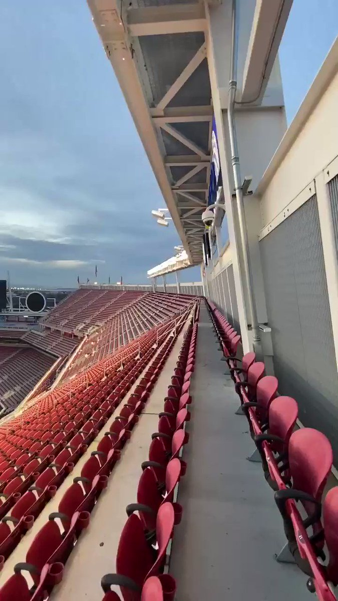 Image for the Tweet beginning: 😍😍😍  @LevisStadium