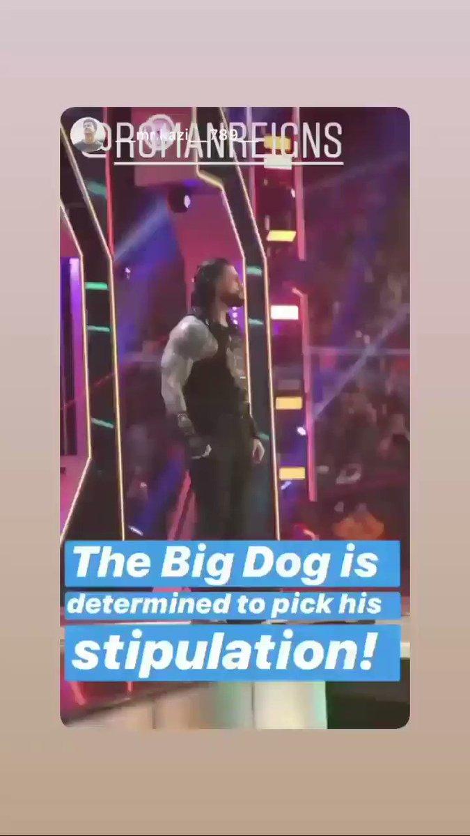 Daily vid of my gorgeous champ @WWERomanReigns Via instagram story 😘😘😘#RomanReigns #RomanEmpire #WWE #WWERaw #TheBigDog #SmackDownOnFox #believeinthefight #joeanoai