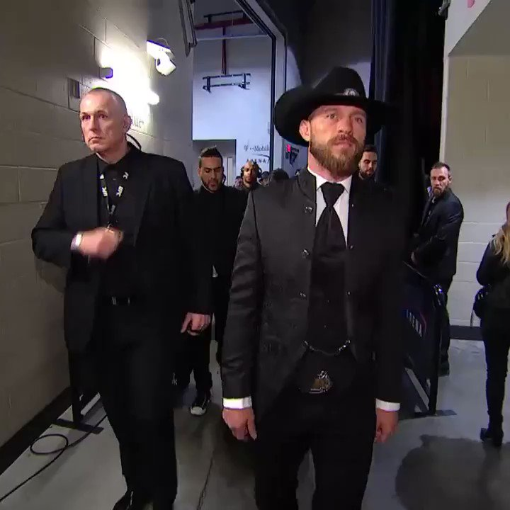 Cowboy has arrived to the arena!!! #UFC246