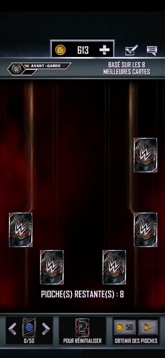 Freebie avant Garde 😍😍#WWESmackdown #WWERaw #WWESuperCard @LeCatchClub @Sturricane