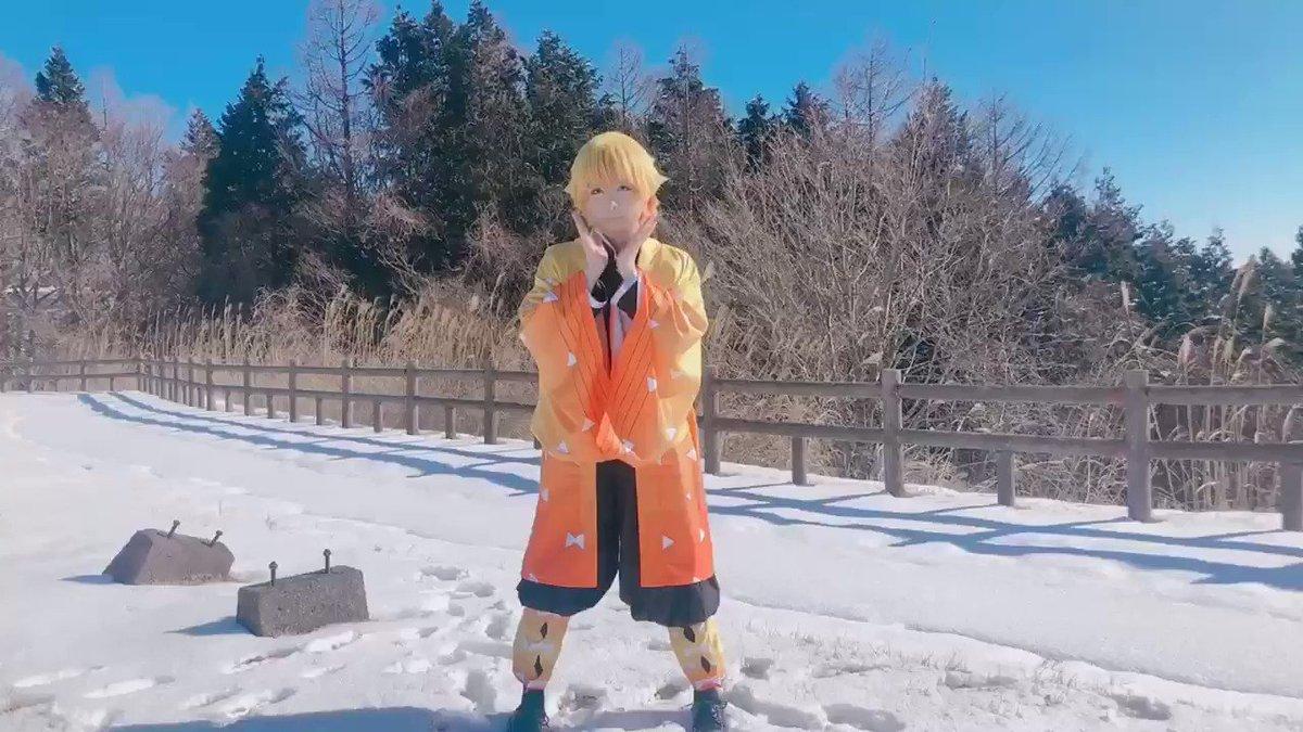 好き!雪!(踊って喋ってます)