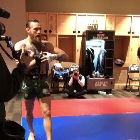 Conor vs Cowboy is up next!!! #UFC246