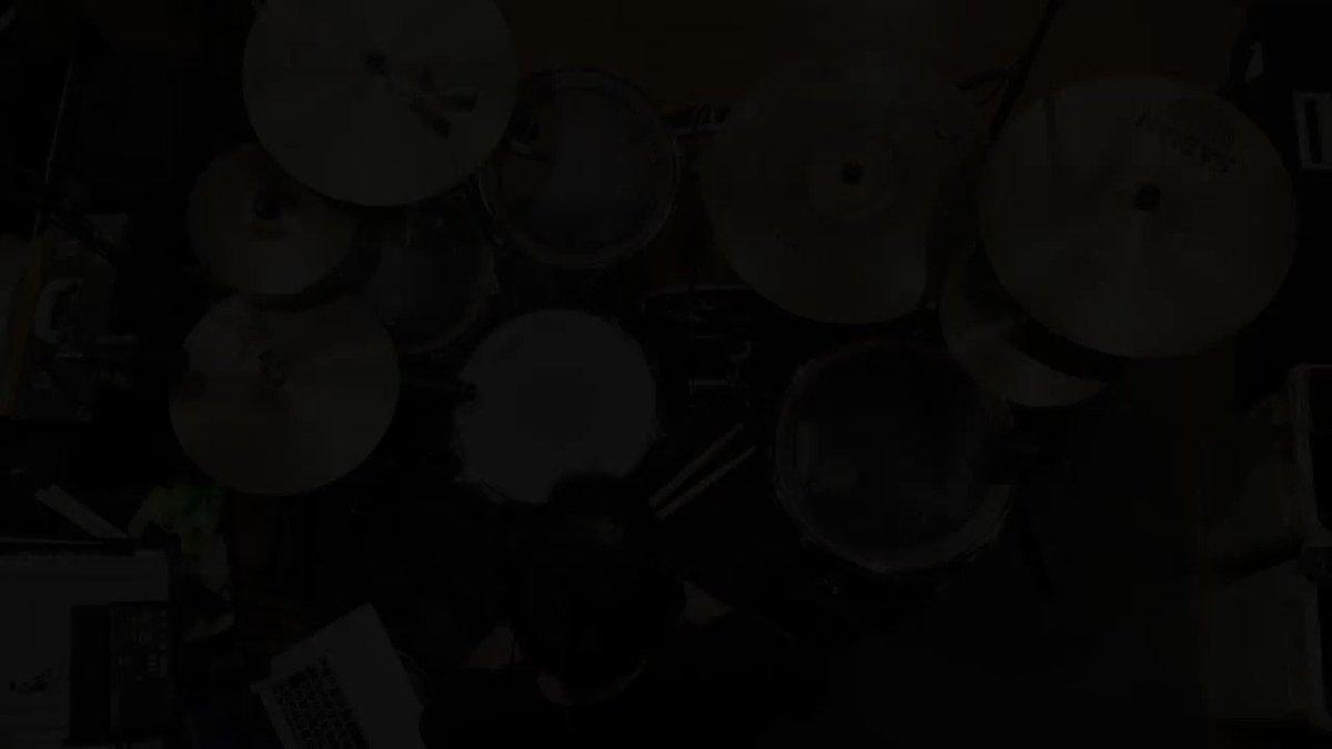 映像研には手を出すな!ED曲「名前のない青」(神様、僕は気づいてしまった)を叩いてみました!おそるべし映像研。アニメもOPもEDもスキがない♫#映像研には手を出すな#ドラム#叩いてみた#名前のない青