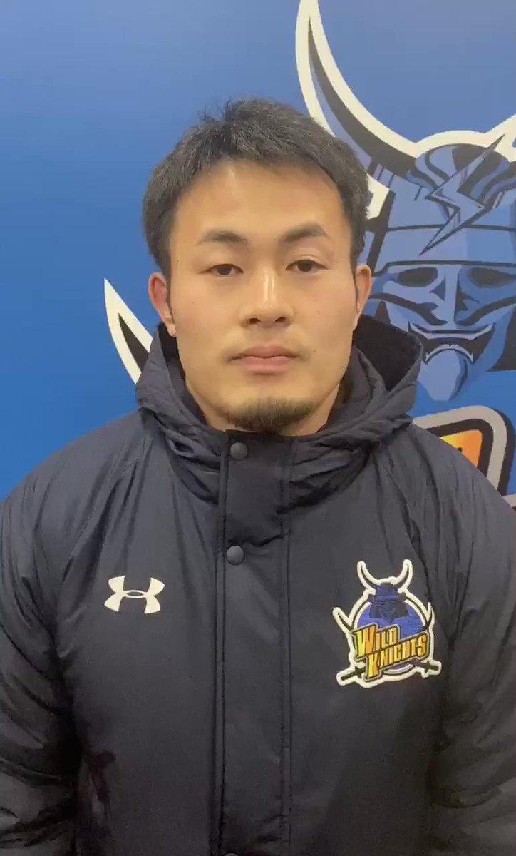 男子セブンズ日本代表トレーニングスコッドに合流するため、チームを離れる事となりました #福岡堅樹 選手より皆様へコメントをお届けします!セブンズ日本代表でも福岡選手が活躍できます様、チームも応援しております!是非、福岡選手へご声援をよろしくお願い致します!#PanasonicWILDKNIGHTS