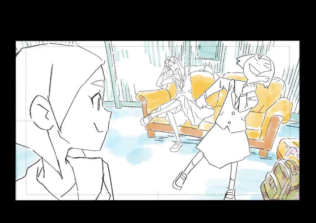 あさくさし今夜は第3話〜Don't miss episode 3 tonight!#映像研 #eizouken_anime