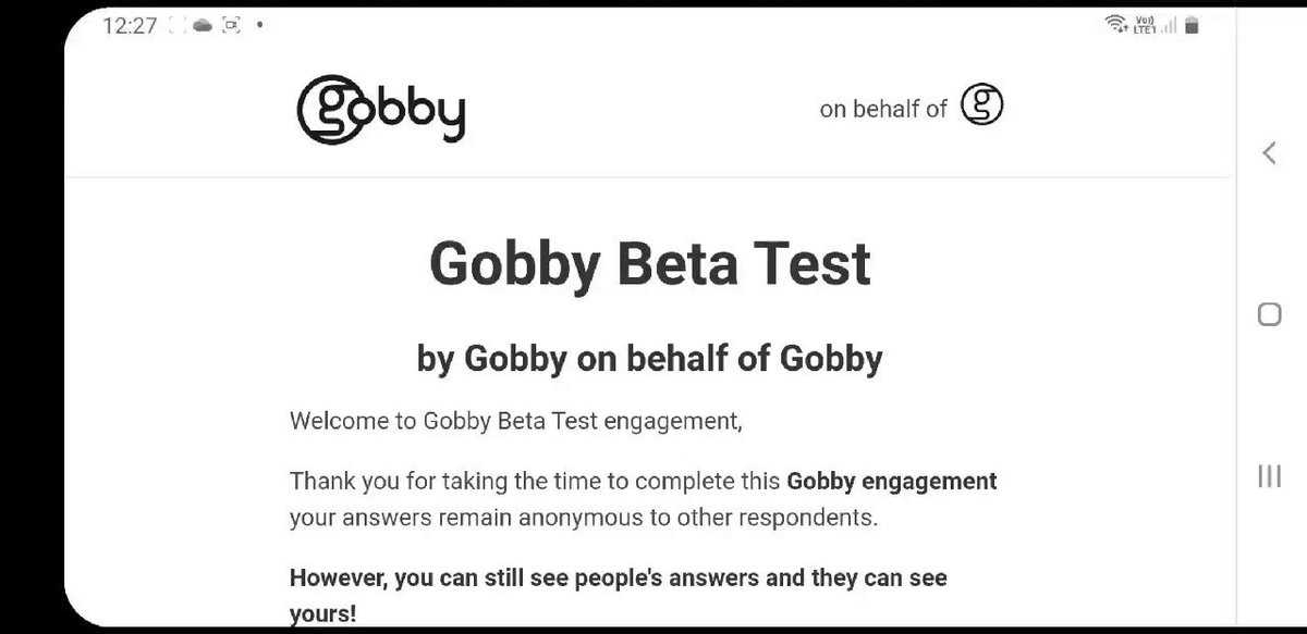 How does Gobby work? #stakeholderengagement #cocreation #transformation #businessintelligence #values #communication #takepeoplewithyou