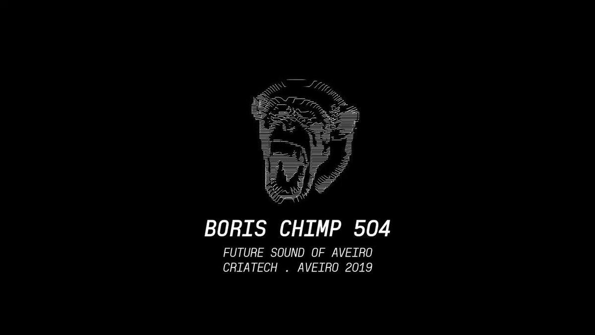 Future Sound of Aveiro . @BorisChimp504 AVInstallation . Criatek2019, #Aveiro  #borischimp504 #audiovisual #visuals #kinect #artinstallationpic.twitter.com/IISJ569OUb