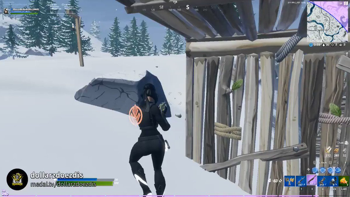 Peekaboo...I SEE YOU!!! When u edit & they dont see u coming!! #Fortnite  🔗