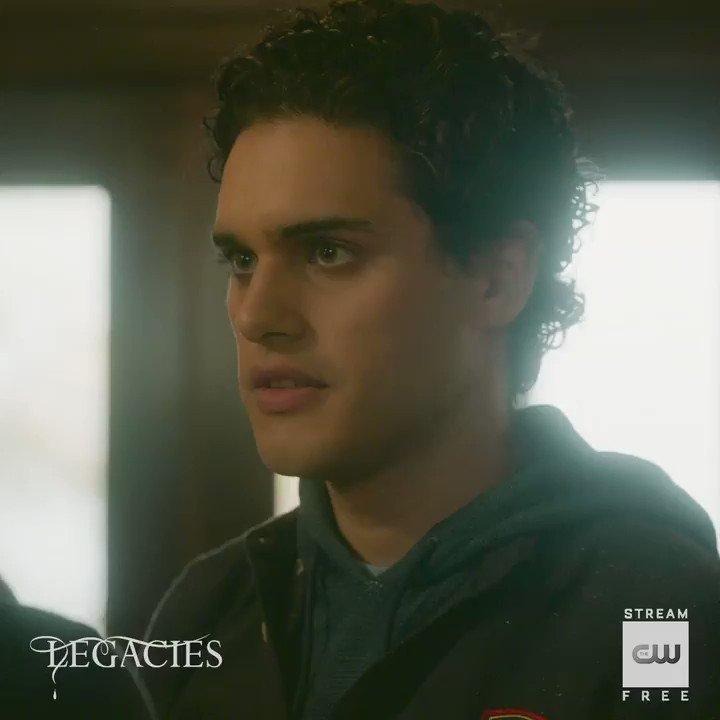 Plenty of supernatural, teen drama. Stream free: go.cwtv.com/streamLGCtw #Legacies