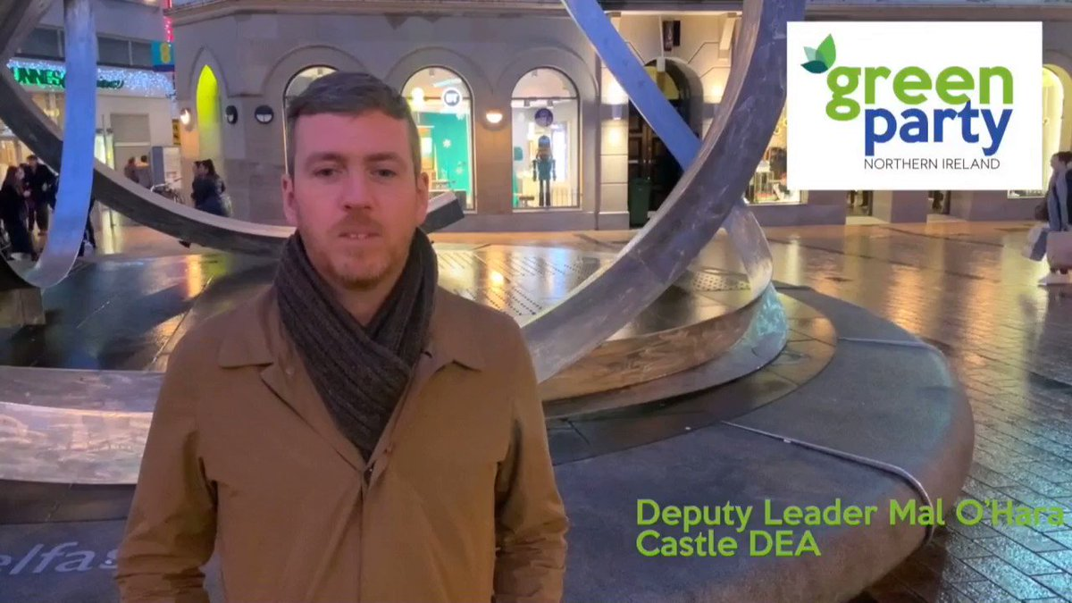 🌊🌊Last May saw a #GreenWave with significant breakthroughs in local govt elections across Belfast 🌊🌊 ✅✅ Green Councillor @oharamal details some of the positive change effected by Green Councillors in just over 6 months since then ✅✅