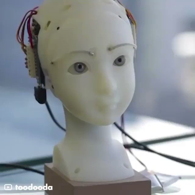 This might be the most expressive robot you've ever seen By @gigadgets_ #AI #Robotics #IoT #innovation #ArtificialInteligence #Technology #MachineLearning #5G Cc: @labordeolivier @jblefevre60 @mvollmer1 @sebbourguignon @DrJDrooghaag @Ym78200 @gvalan @kalydeoo @lesguer_lionel