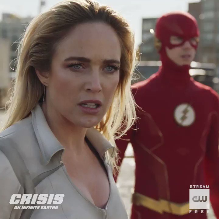 Its not over yet. Stream the 5-episode crossover free only on The CW App: go.cwtv.com/CrisisSPGtw #CrisisOnInfiniteEarths