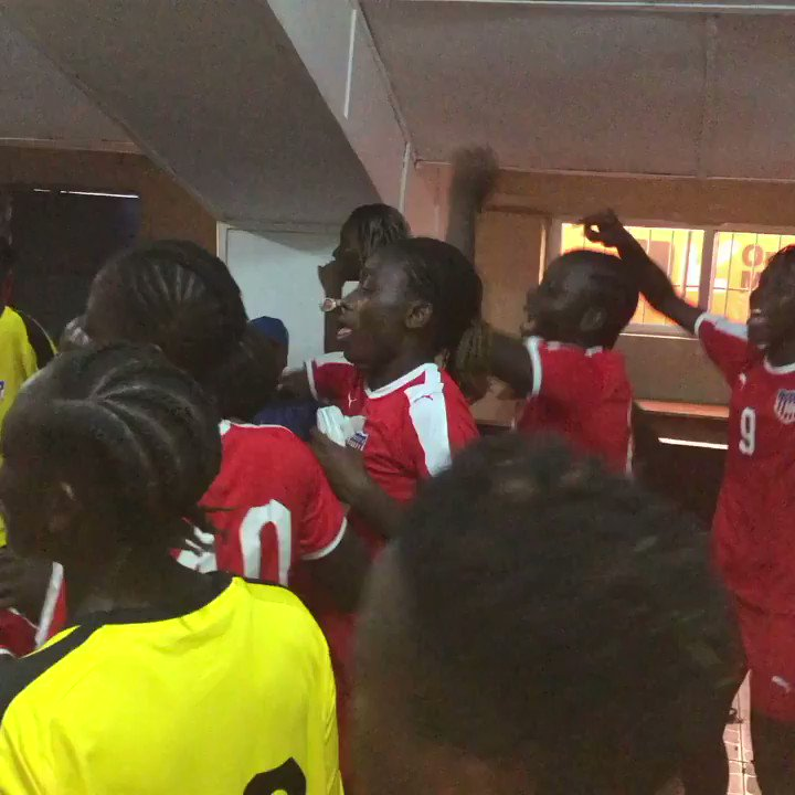 And it ended @ ATS 3-0 in favor of Liberia against Guinea in the first leg of the Women U20 FIFA World Cup Qualifiers... @thelibinfluence @Liberia_FA @mustapharaji_