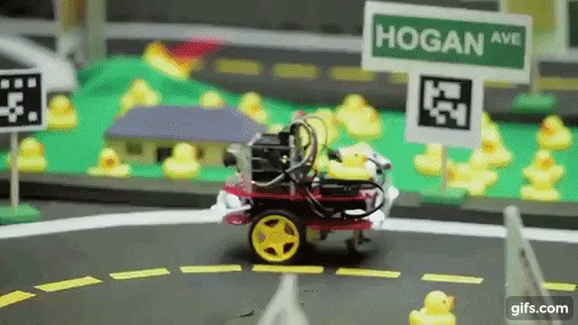 """Image for the Tweet beginning: MIT """"Duckietown"""" course teaches students"""