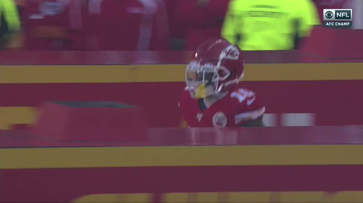 Video: Tyreek Hill's Controversial AFC Championship Game Entrance