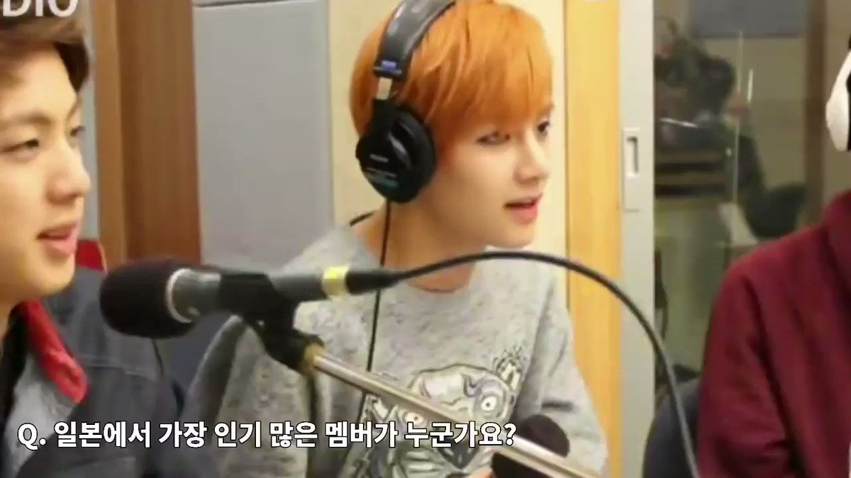 [TRANS] KISS THE RADIO (2014)Who is the most popular member in japan?Everyone : VDJ : Oh V🐯 : Ahh thank youDJ : So you're very popular?🐯 : Ah me? No all of us are equally very popular 🐨 : why are you being like that🐹 : such a humble friend +