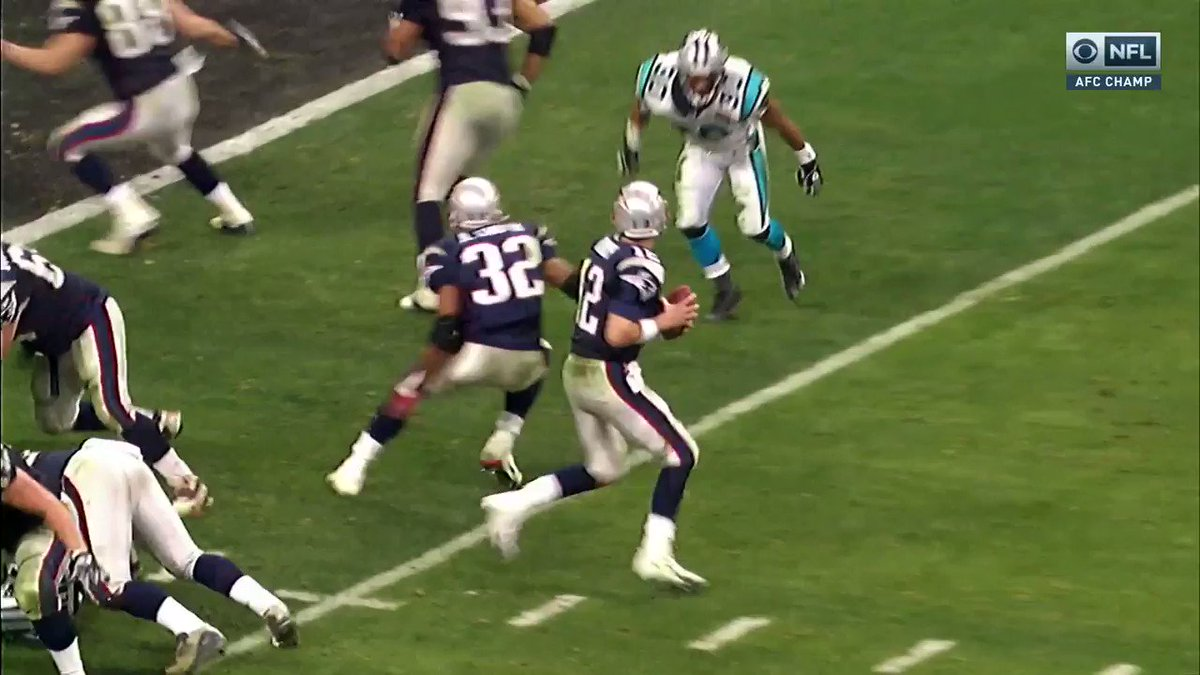 Vrabel just drew up a big-guy TD.  Something he's all too familiar with 👏 (via @thecheckdown)
