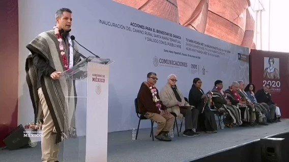 Image for the Tweet beginning: El gobernador de #Oaxaca @alejandromurat