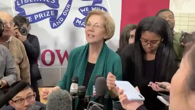 Reporter: Is it disqualifying for a presidential candidate to lie to the American people about anything? @ewarren: How could the American people want someone who lies to them. Excellent point, Lying 🤥 Liz!