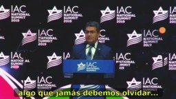 4/6. El 8 de diciembre de 2019 me dirigí al Consejo Americano Israelí, describí la amenaza de seguridad que representa el grupo terrorista Hezbolá y su papel en crimen organizado transnacional, el ataque terrorista contra AMIA en Buenos Aires y la muerte del fiscal Alberto Nisman