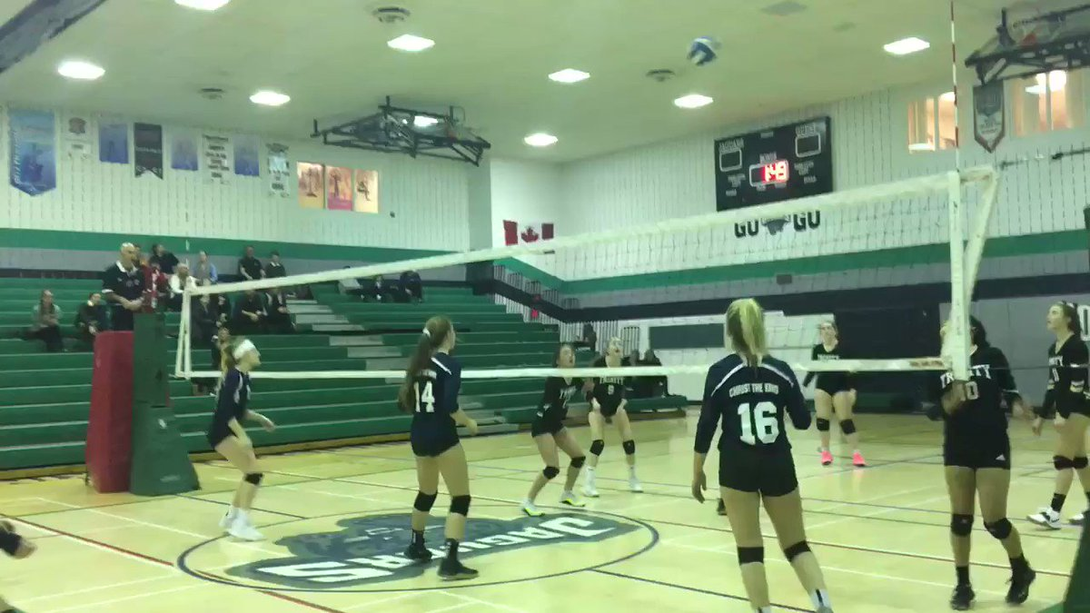 Image for the Tweet beginning: Jr Girls Volleyball finished the