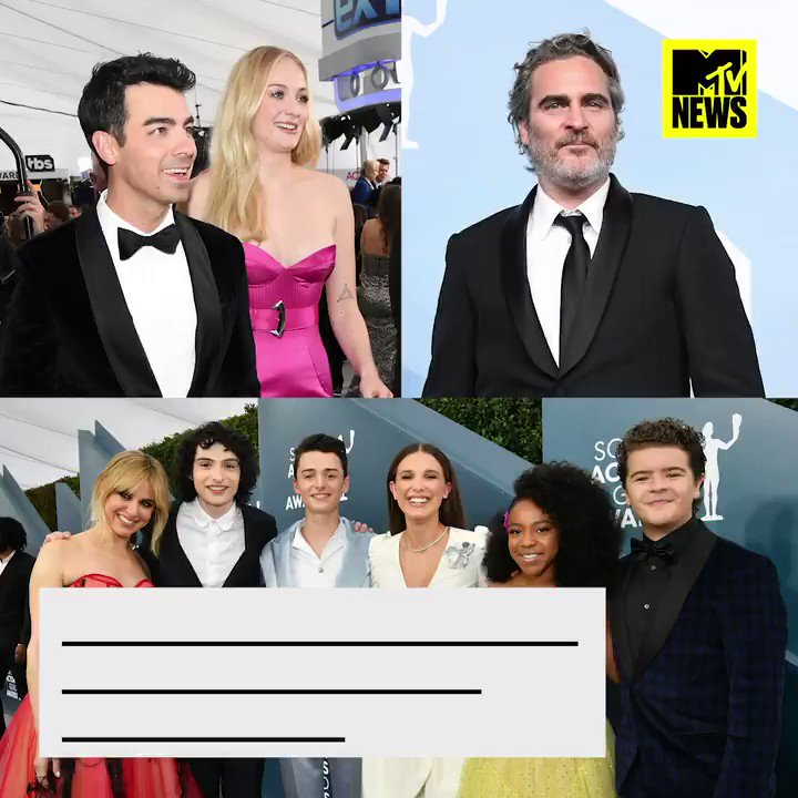 Last night's SAG Awards is the gift that keeps on giving 😍🏆