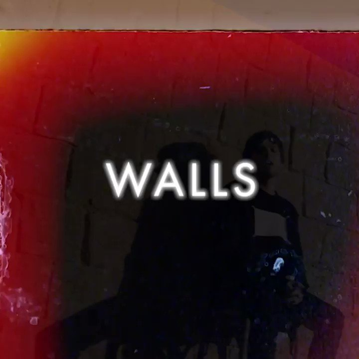 Walls video premieres today at 5pm GMT !