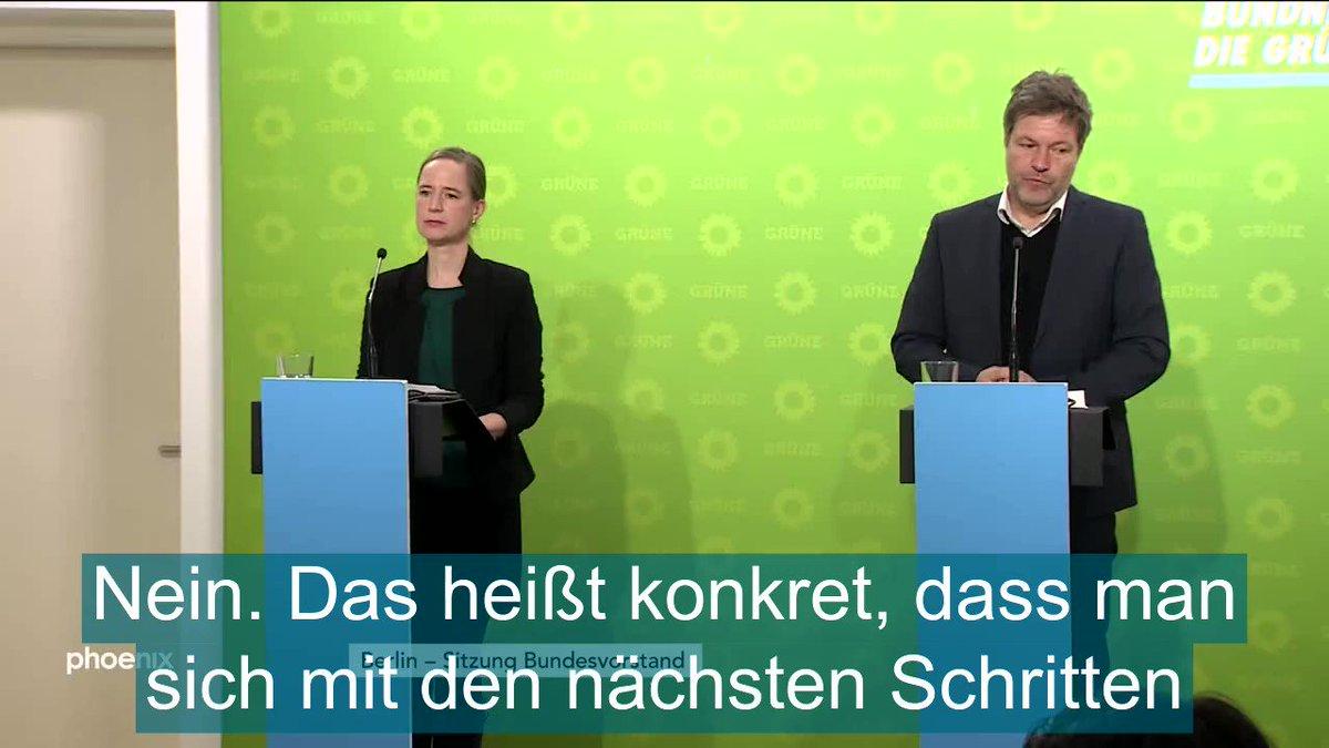 """""""Perspektivische Debatte,...die sollte man jetzt nicht verneinen""""  Wenn einer der Vorsitzenden der @Die_Gruenen realistischer redet als der Außenminister https://t.co/xjQaTNveve"""