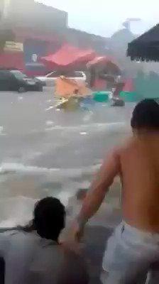 Image for the Tweet beginning: 🔴 Terribles #inundaciones en #BeloHorizonte,