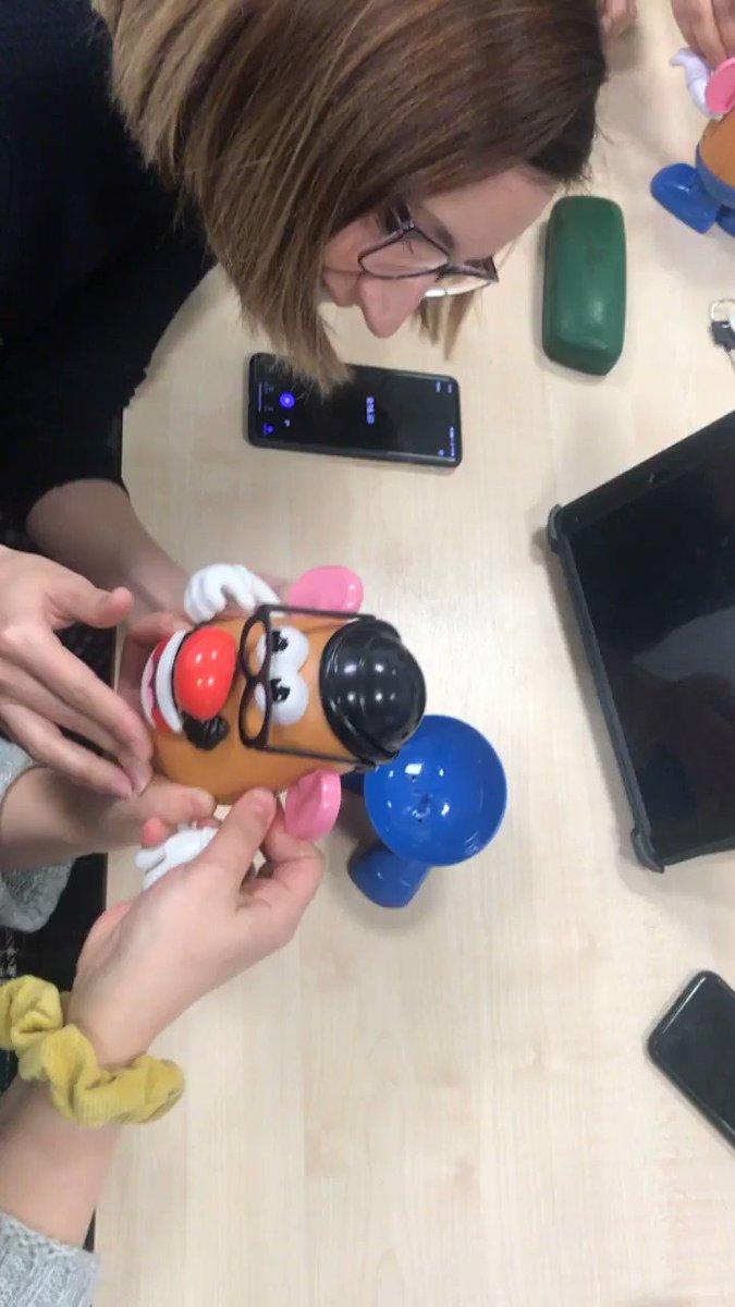 The #ImplementationTeam workshop this morning. What can Mr Potato Head teach us about improving daily work? Throwback  @LYPFT_CI   @DitLeeds   @FatimaRaja_DIT   @Jayshree86   @arron1DIT   @hannah_jDIT   @marespadasirles   @BlancaBlankitaB   @GascoyneThomas  #BestSelf #PDSACycle