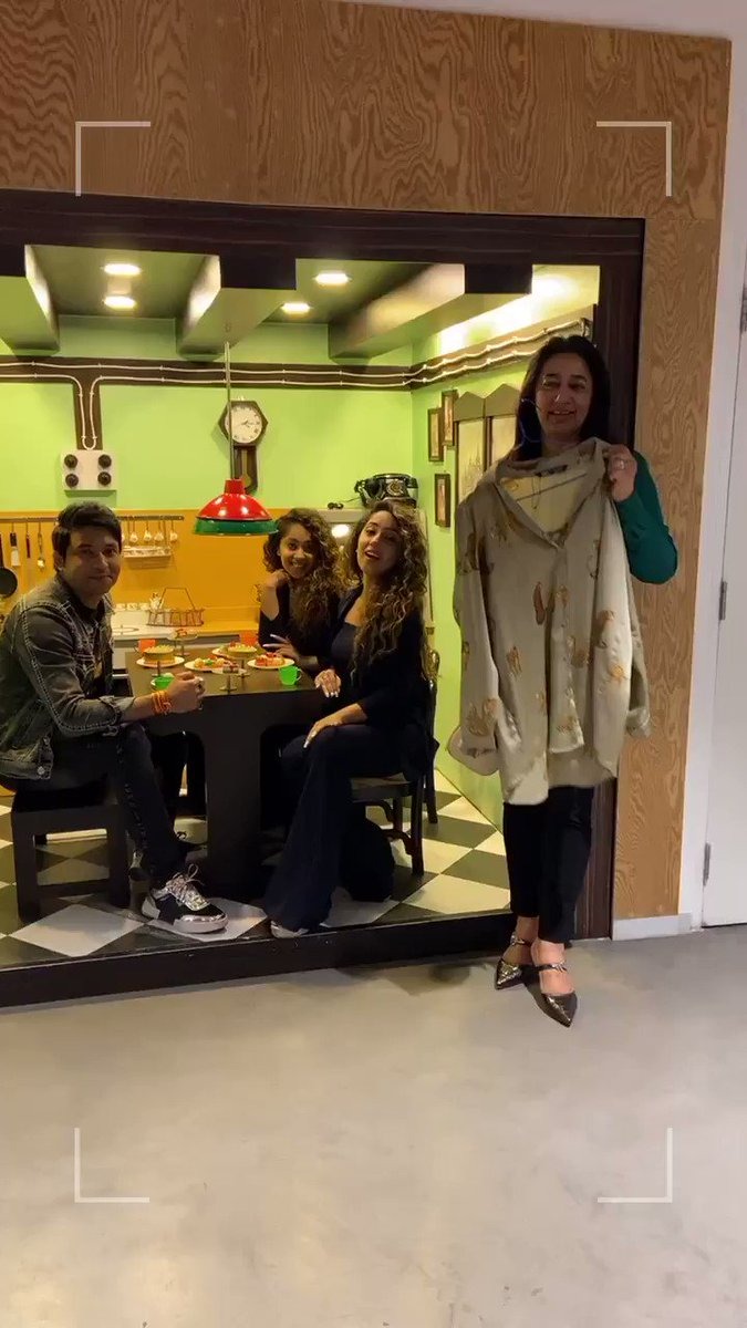 Love Laughter & Lots of Coffee #reelorrealwithanu @TheITA_Official @haanjichandan @iChinkiMinki