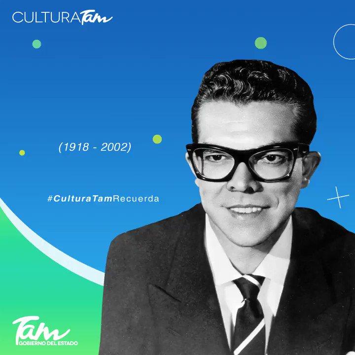 #CulturaTamRecuerdaPionero de la música electrónica, hoy celebramos 102 años del nacimiento del arreglista, pianista y compositor tampiqueño Juan García Esquivel. Fue considerado 'El padre de la música lounge'.¿Has escuchado sus obras? ¡Conócelas!