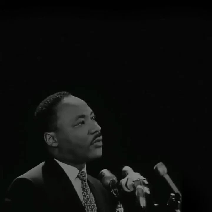 """Social progress never rolls in on the wheels of inevitability. It comes through the tireless efforts and the persistent work of dedicated individuals."""" Honoring Martin Luther King Jr. today. #MLKDay (📽️ h/t @Stanford)"""