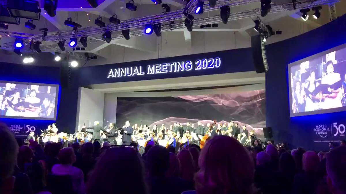 Image for the Tweet beginning: It has started: @ietbhq #WEF2020