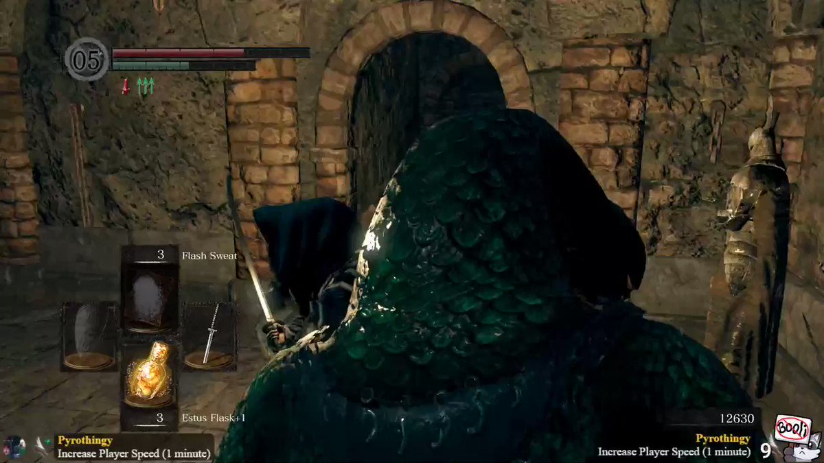 I'm like, really good at Dark Souls.