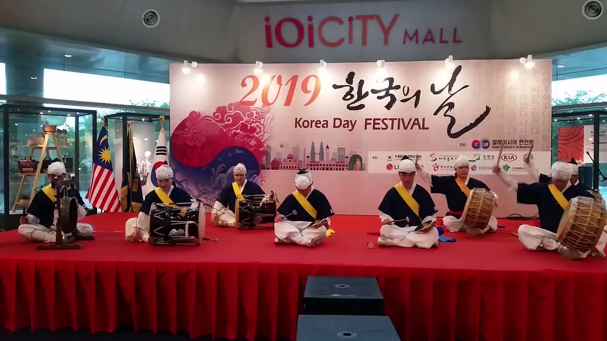 #Travel #culture #traditional #Festival #SouthKorea #Malaysia  [2019 Korea Day Festival]  SamulNori is the name of a group of four dynamic musicians dedicated to performing and preserving traditional Korean music and dance. The name also refers to the style of music they created.