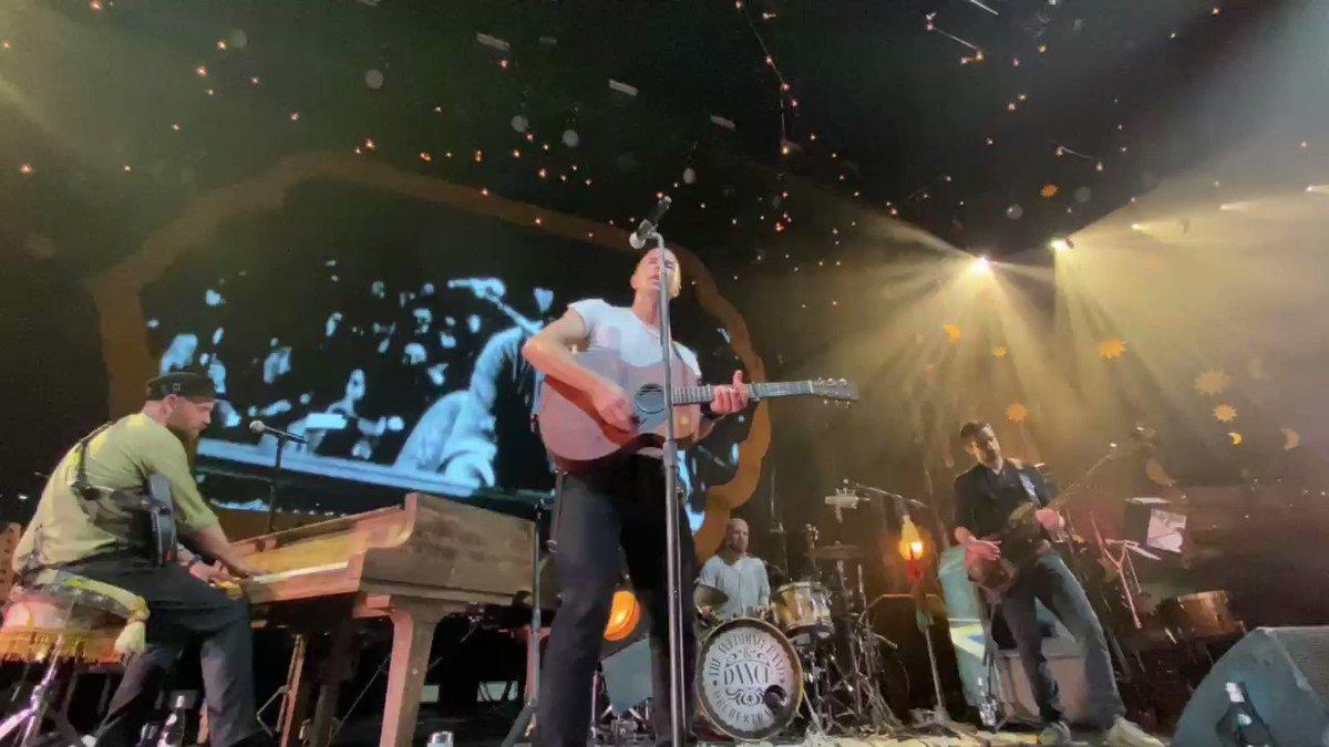 Sparks. #ColdplayPalladium
