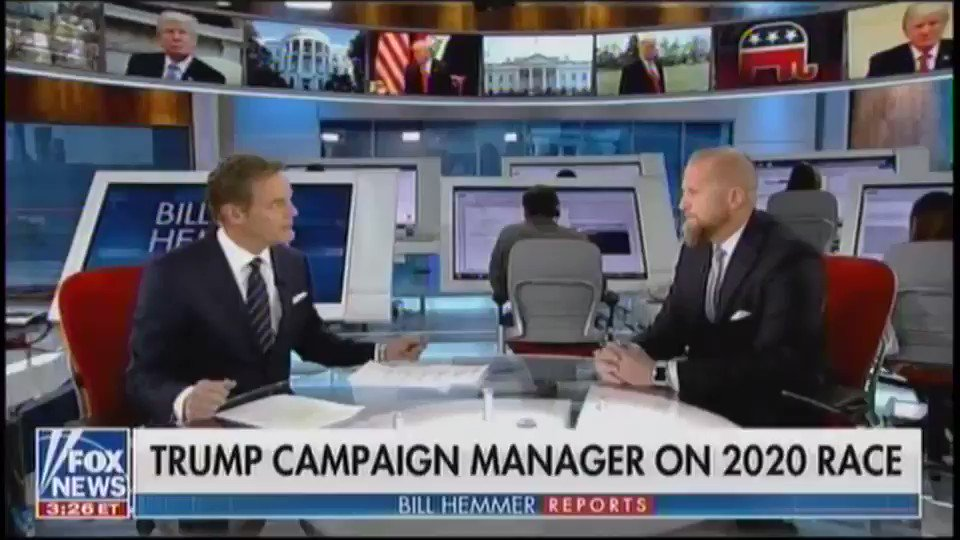 """""""Independents see this farce and this hoax… The American people don't like to be bamboozled, they don't like the kangaroo court."""" -@parscale"""