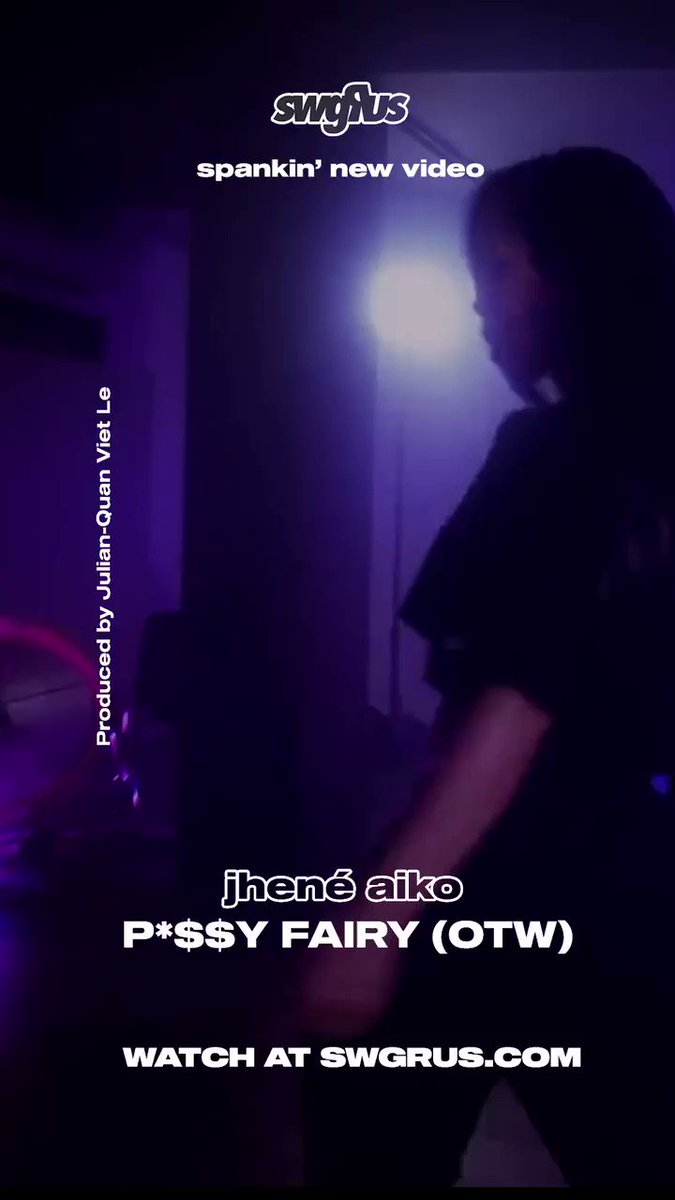 @JheneAiko @brandon__parker Listen to @JheneAiko new record here: swggr.us/pussyfairy