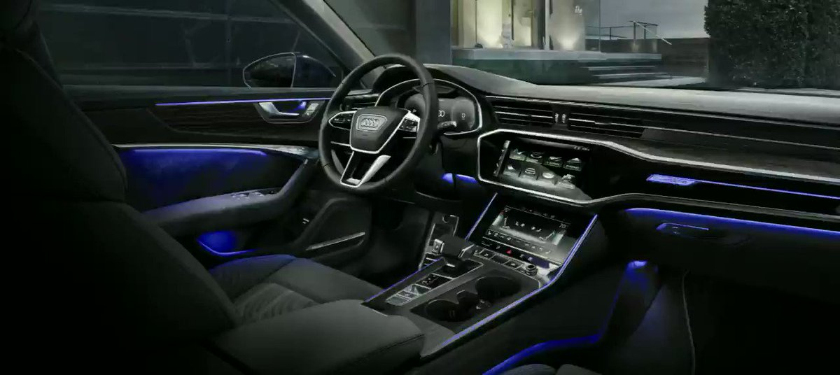 The optional contour ambient light package creates a unique atmosphere and gives the interior of the Audi A6 Sedan a fascinating ambience. Learn more about the Audi A6 here:  http://bit.ly/2FJegbA   #A6