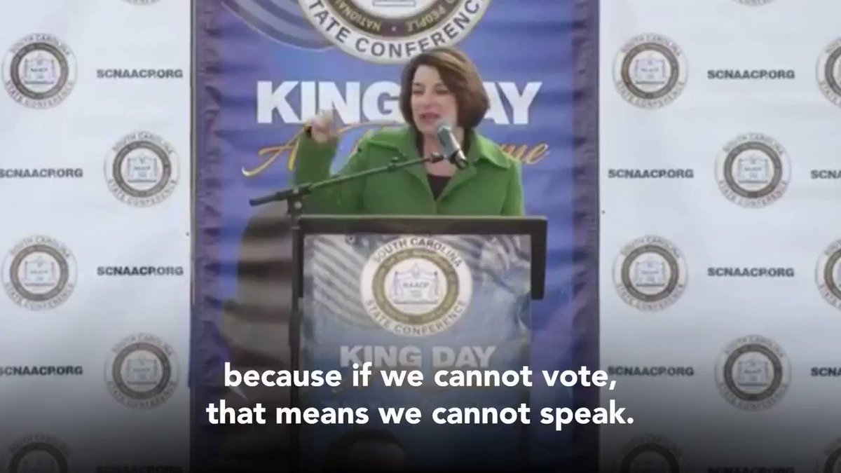 If we cannot vote — we cannot speak.