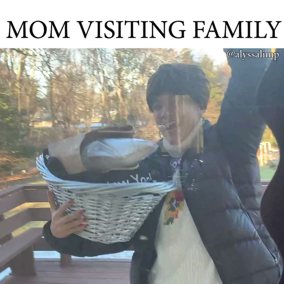 mom saw the relatives