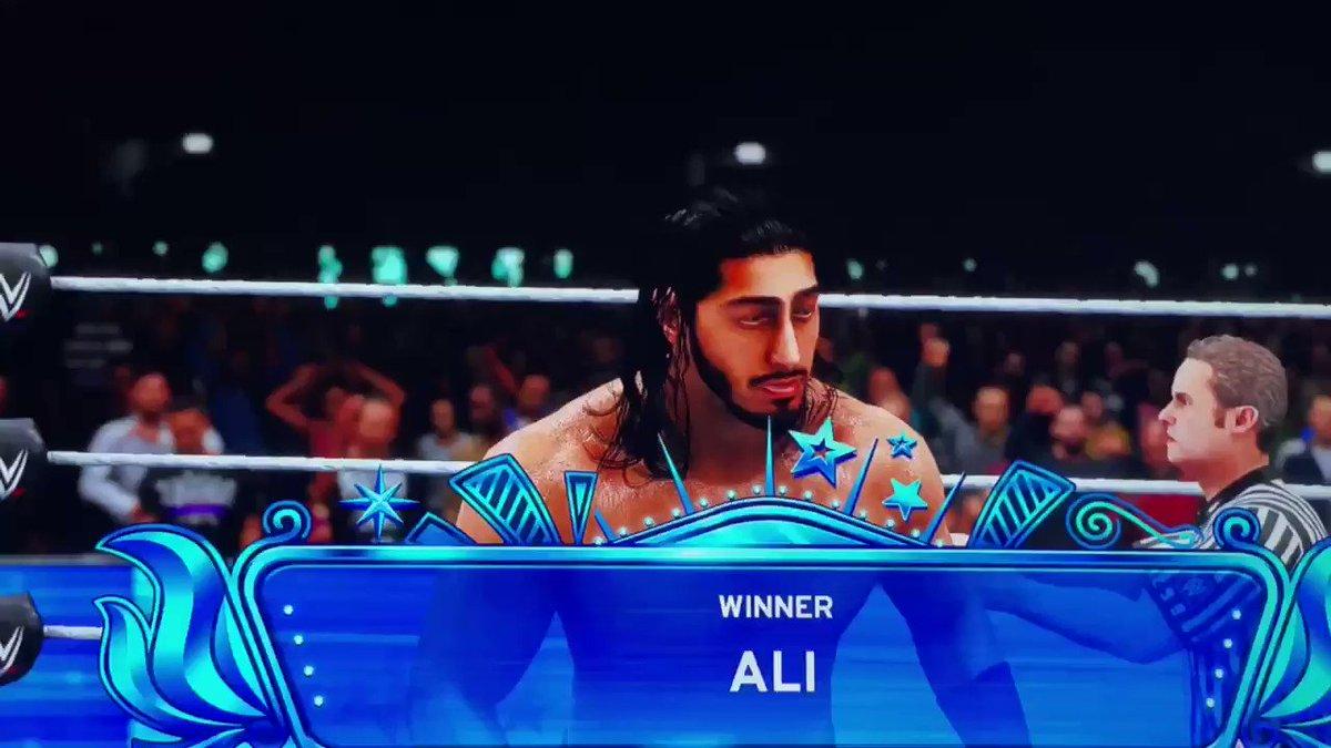 #WWE2K20 #ali #sheamus #wwe @WWESheamus @AliWWE @WWEgames