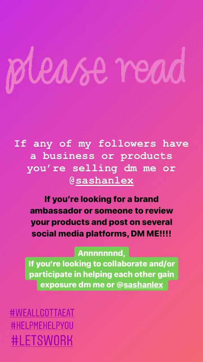 Attention all content creators!!!! LET'S COLLAB 🙌🏽Follow our couple page on instagram @sashanlex •• Link to our YouTube is in our bio. Click that for me 🖥We're doing another giveaway! (details coming later today) #Like #Comment #Subscribe #Follow #LetsWork #LetsCollab